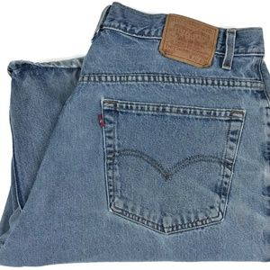 Levi's 560 Loose Fit Tapered Leg Denim Jeans 40x29